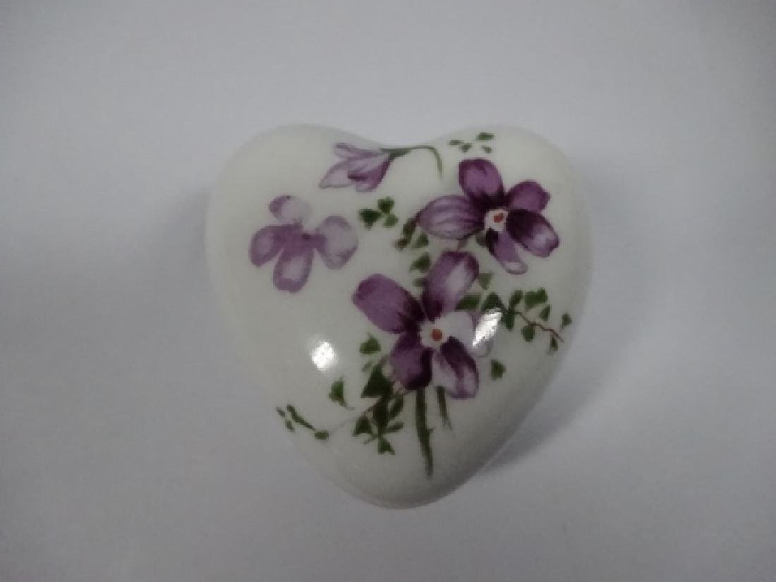 5 PC TRINKET BOXES, INCLUDES HEART SHAPED CHINESE - 11