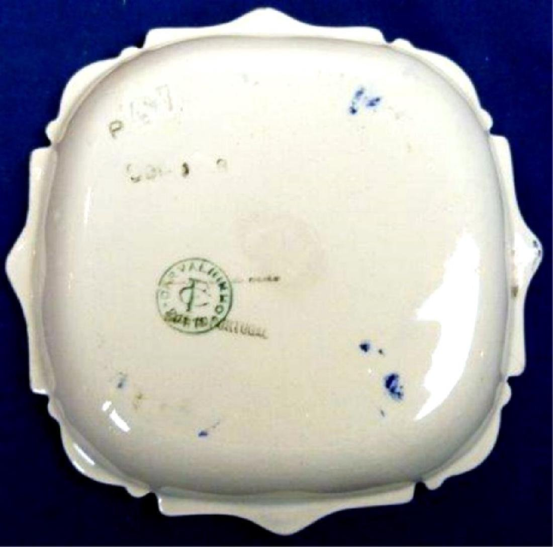PORTUGUESE HAND PAINTED CERAMIC PLATE, MADE BY CERAMICA - 2