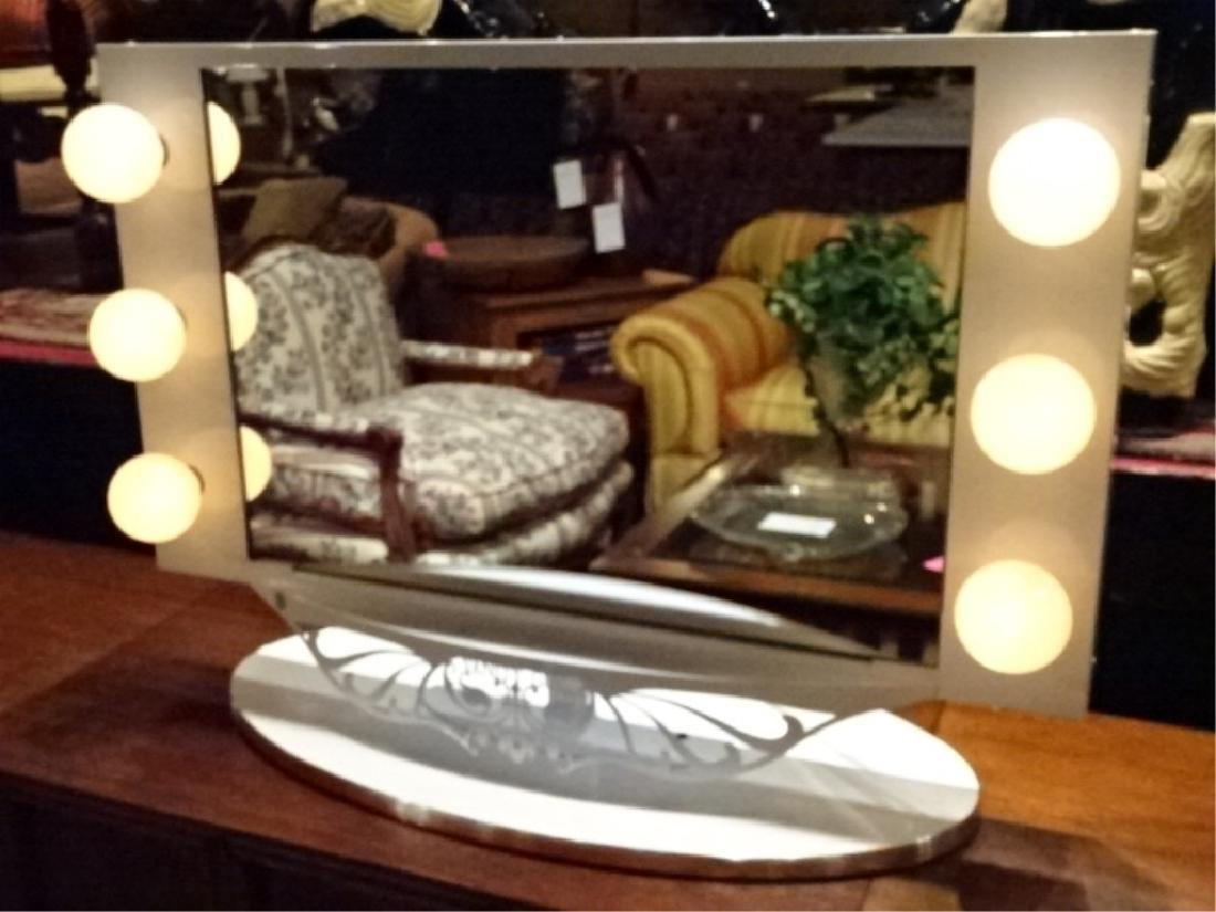 STARLET LIGHTED VANITY MIRROR BY VANITY GIRL HOLLYWOOD,