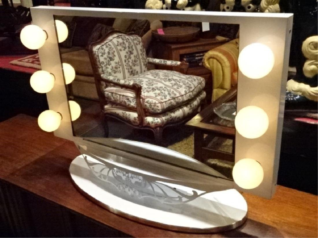 STARLET LIGHTED VANITY MIRROR BY VANITY GIRL HOLLYWOOD, - 5