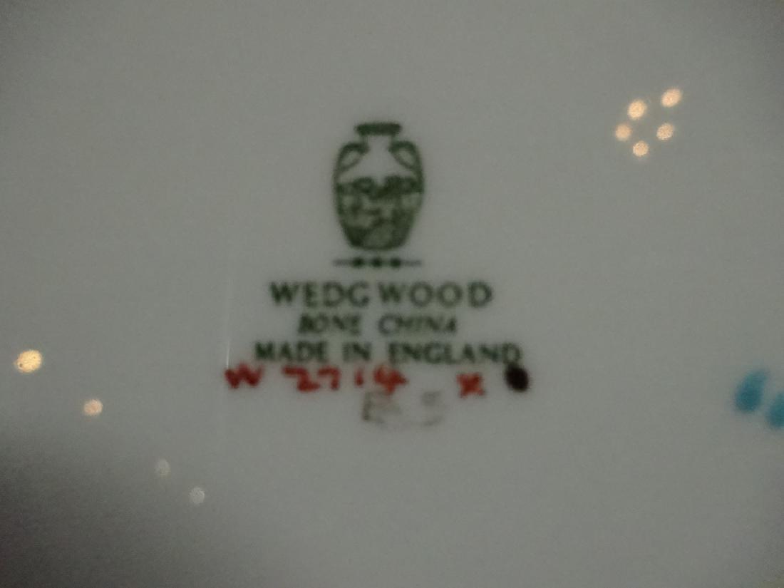 43 PC WEDGWOOD BONE CHINA, FLORENTINE, MADE IN ENGLAND, - 4