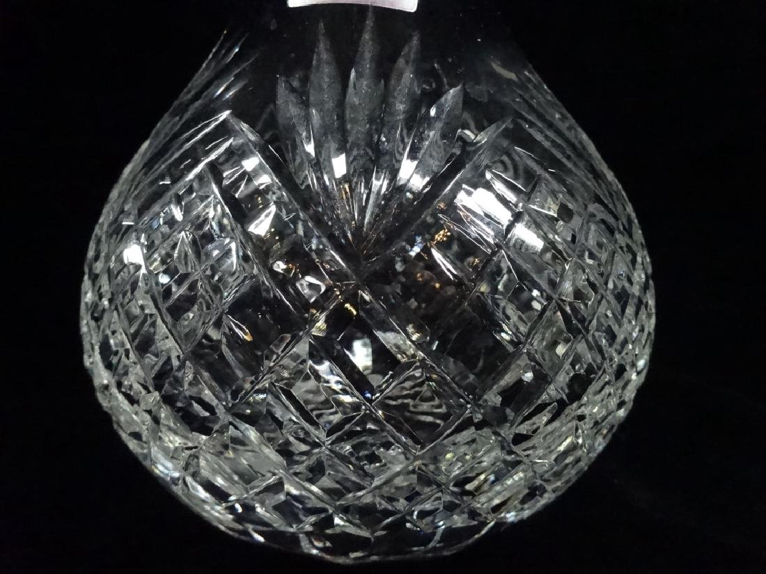 "CRYSTAL DECANTER WITH STOPPER, APPROX 10""H - 2"