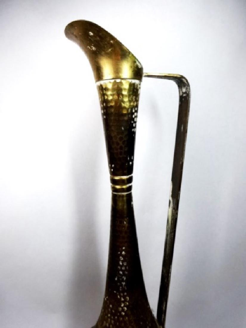 "BRASS PITCHER, APPROX 14.5""H - 2"