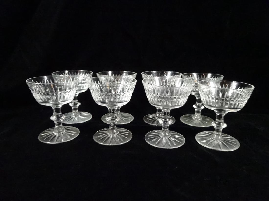 "30 PC CRYSTAL STEMWARE, INCLUDES 8 GLASSES APPROX 6""H, - 10"