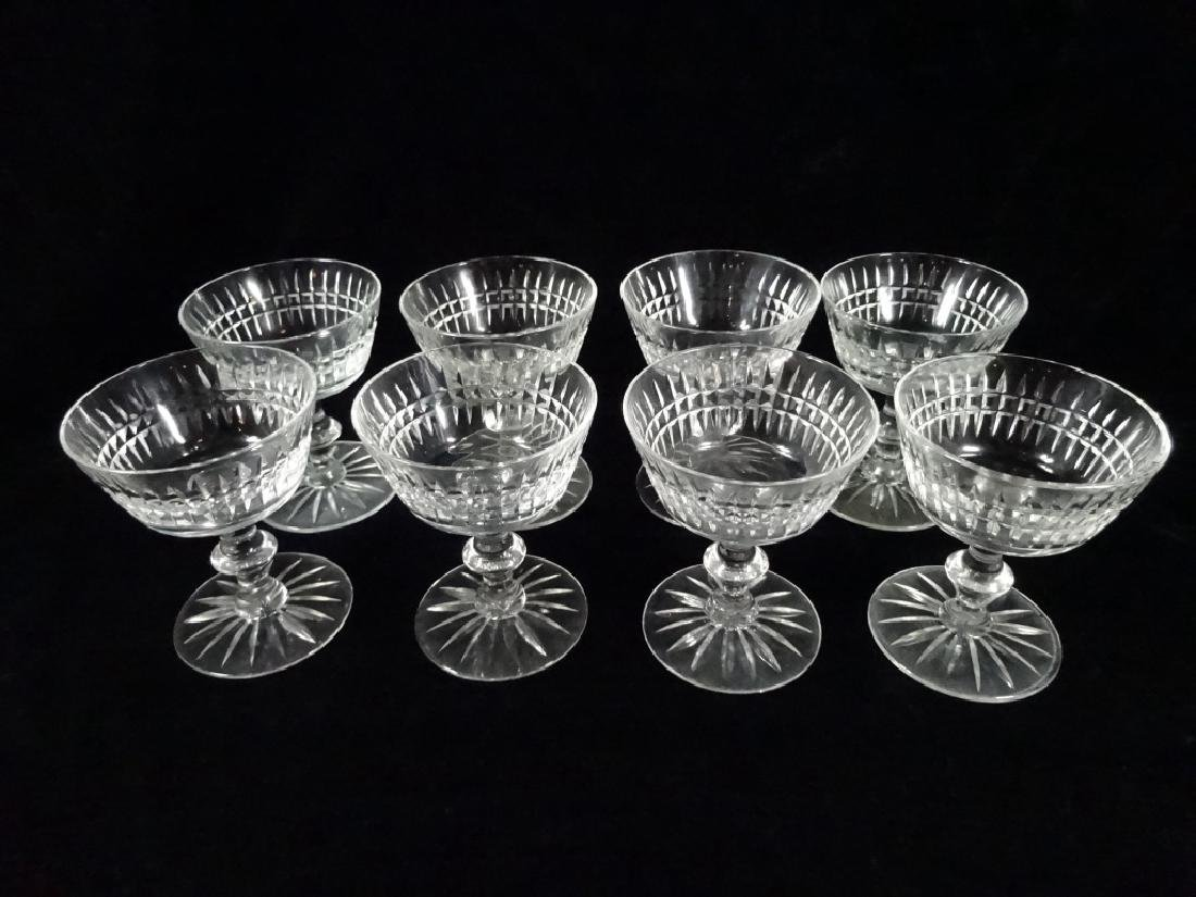 "30 PC CRYSTAL STEMWARE, INCLUDES 8 GLASSES APPROX 6""H, - 11"