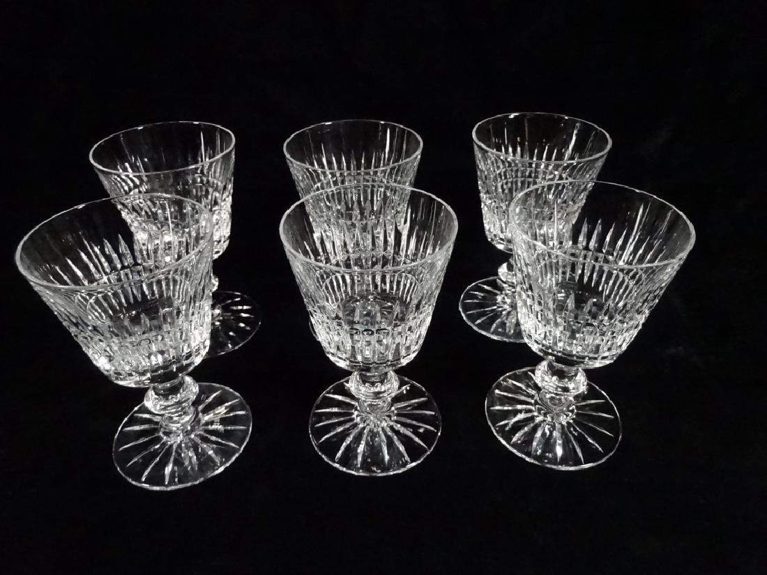 "30 PC CRYSTAL STEMWARE, INCLUDES 8 GLASSES APPROX 6""H, - 3"