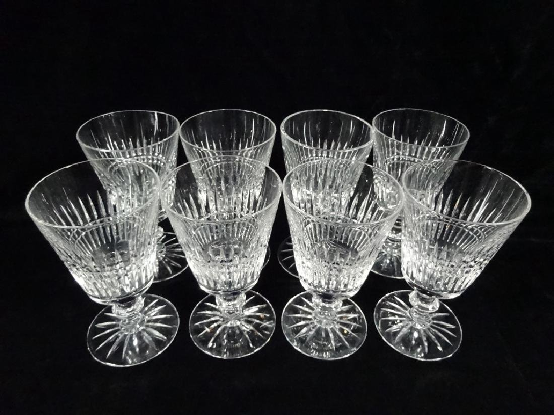 "30 PC CRYSTAL STEMWARE, INCLUDES 8 GLASSES APPROX 6""H, - 7"