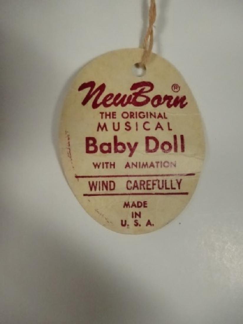 MARLON CREATIONS NEWBORN MUSICAL BABY DOLL WITH - 4