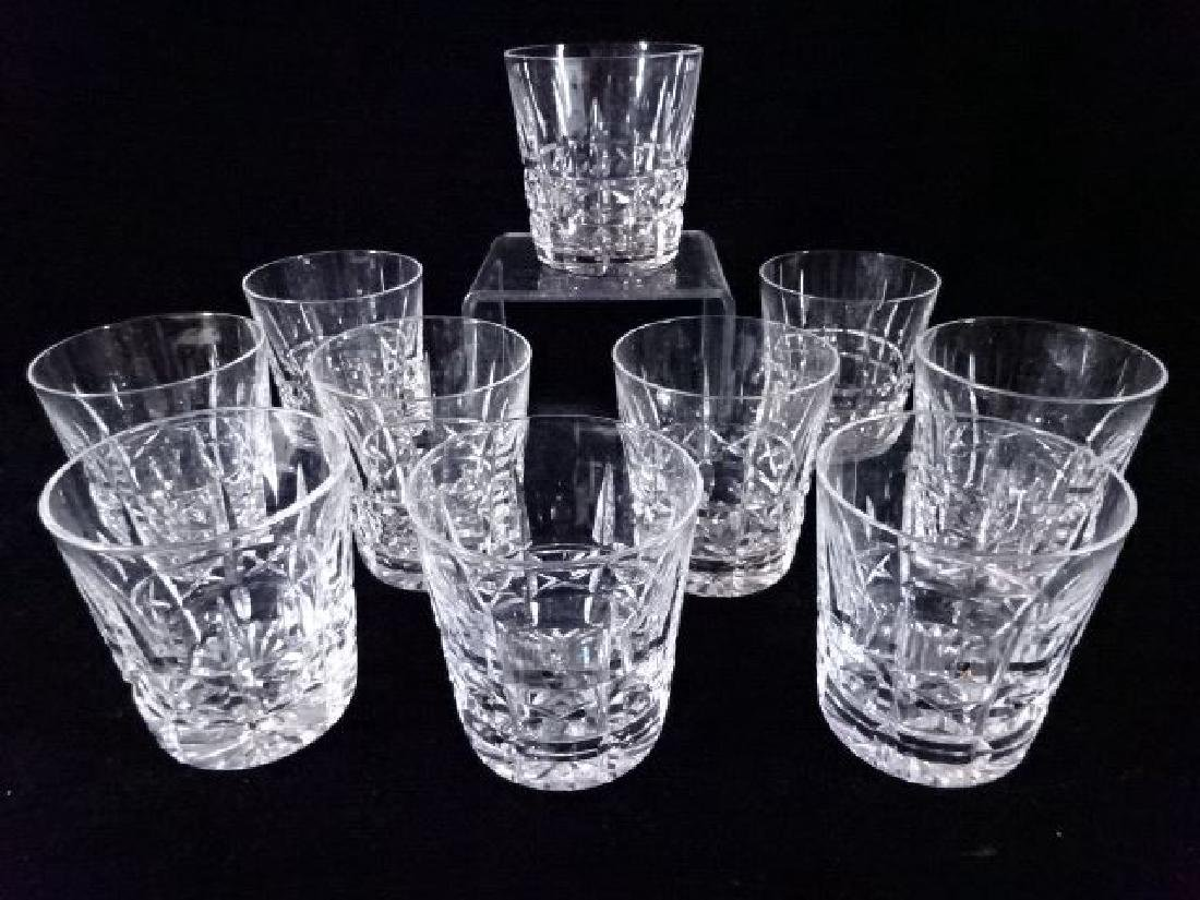 10 WATERFORD CRYSTAL KYLEMORE OLD FASHIONED GLASSES, - 4