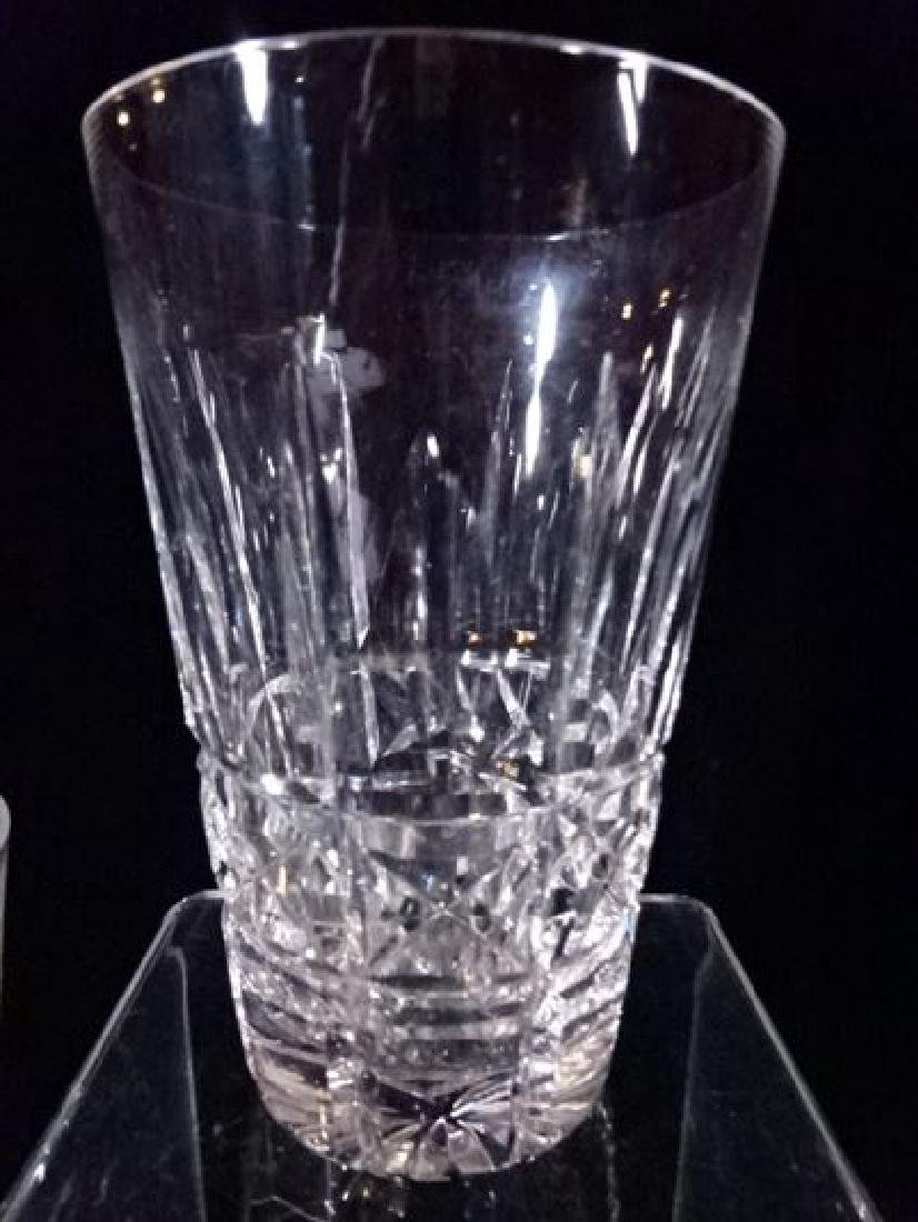 8 WATERFORD CRYSTAL KYLEMORE TUMBLERS, ETCHED WATERFORD - 3