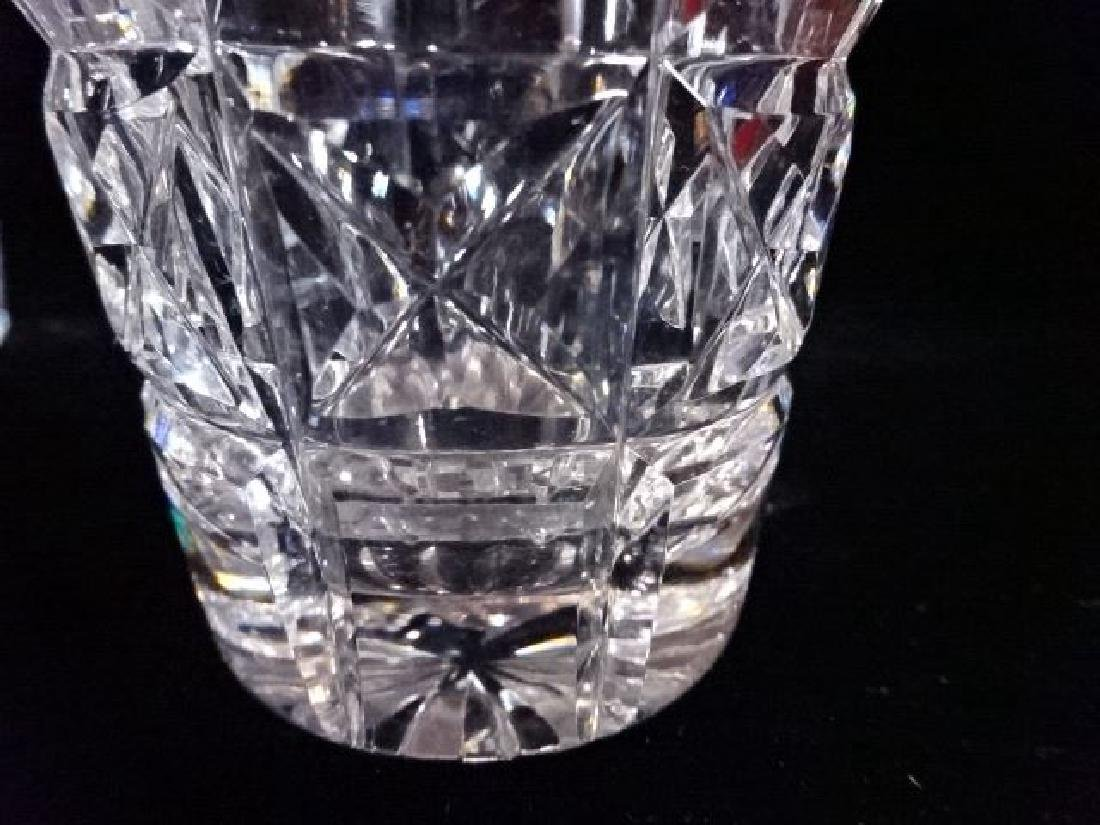 8 WATERFORD CRYSTAL KYLEMORE TUMBLERS, ETCHED WATERFORD - 4