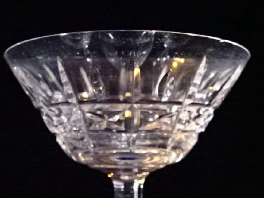 7 WATERFORD CRYSTAL KYLEMORE CHAMPAGNE / MARTINI - 4
