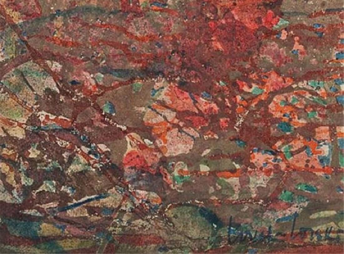 BORIS LOVET-LORSKI (AMERICAN 1894-1973) OIL ON CANVAS