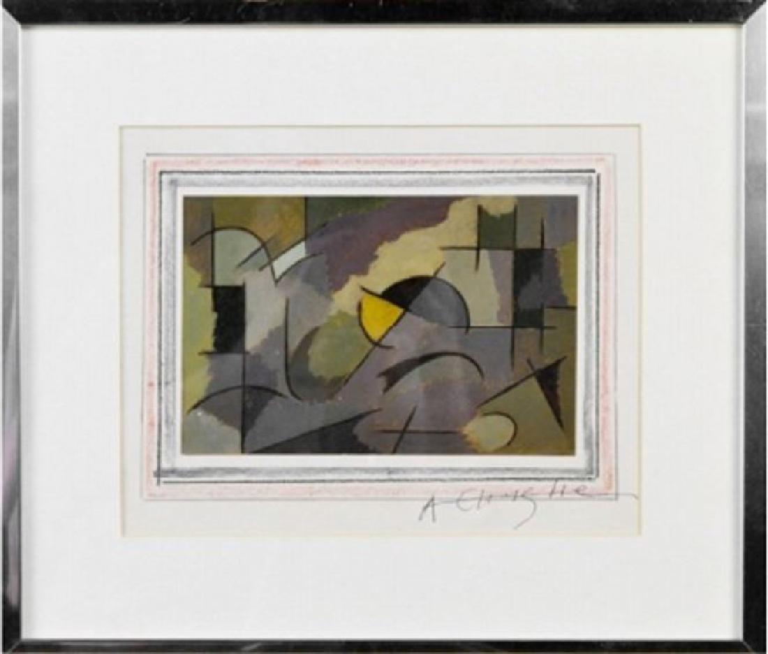ARTHUR N. CHRISTIE (AMERICAN 1891-1980) INK AND GOUACHE