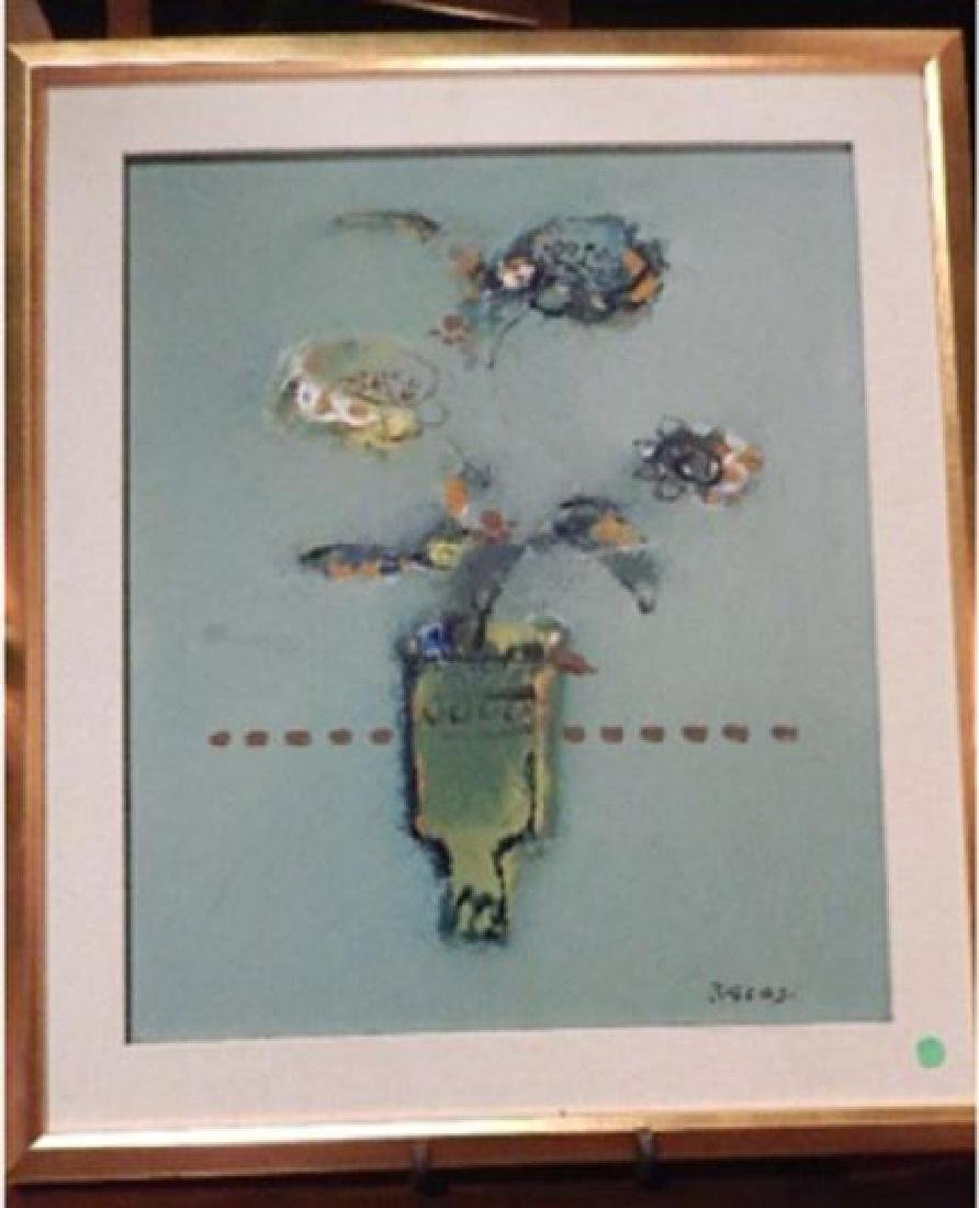 MANLIO BACOSI (ITALIAN 1921-1998) OIL ON CANVAS