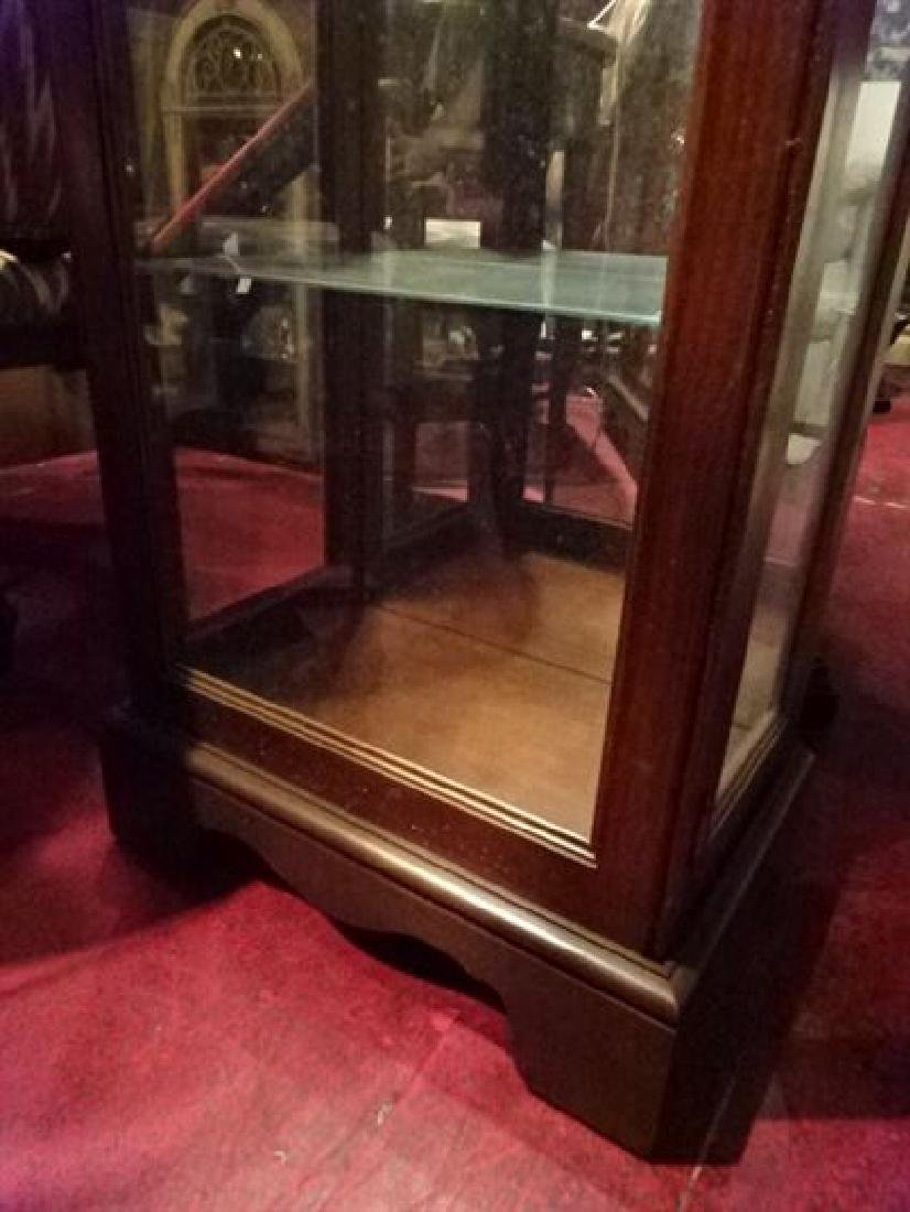 PHILLIP REINISCH LIGHTED DISPLAY CABINET, DOME TOP, - 3