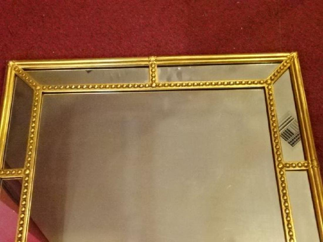 NEOCLASSICAL GOLD FINISH MIRROR, VERY GOOD CONDITION, - 2