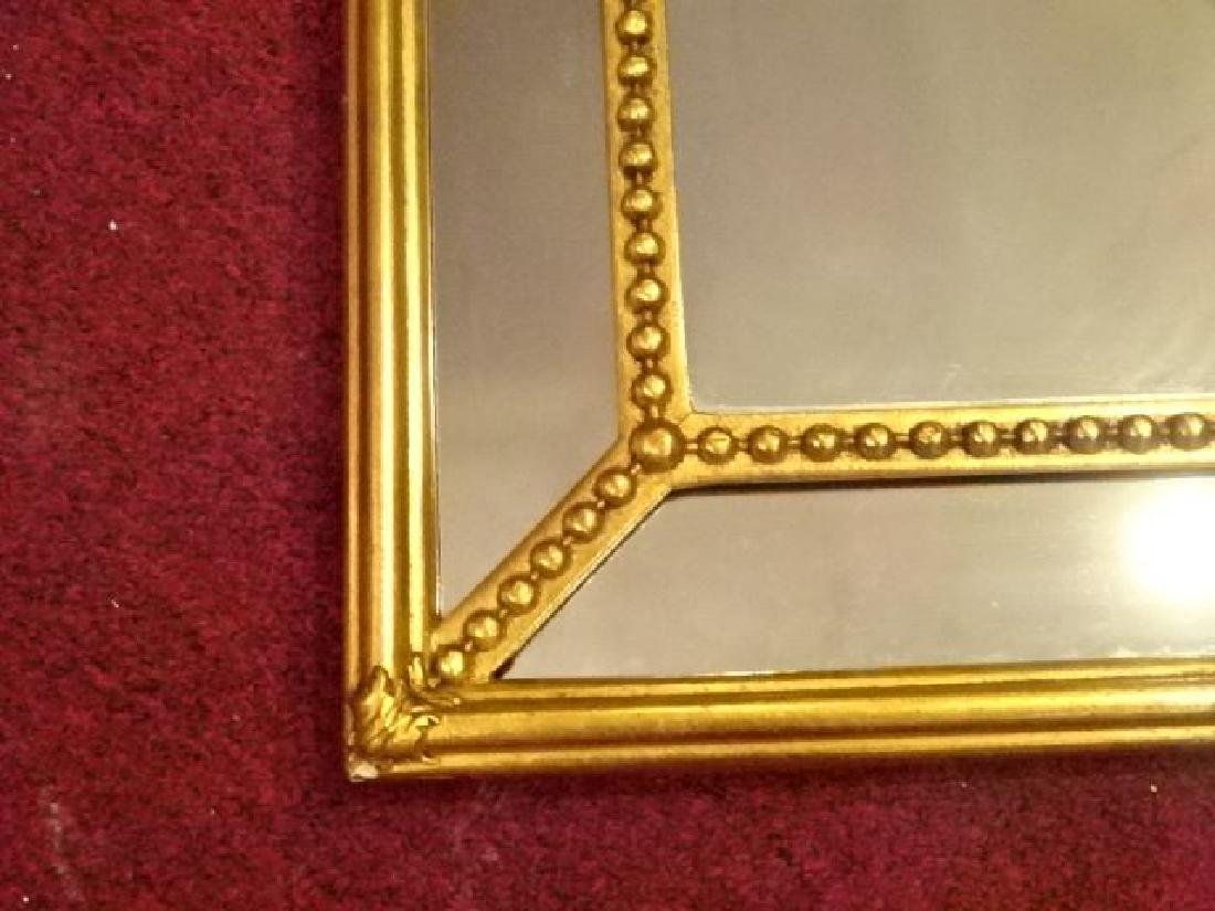 NEOCLASSICAL GOLD FINISH MIRROR, VERY GOOD CONDITION, - 3