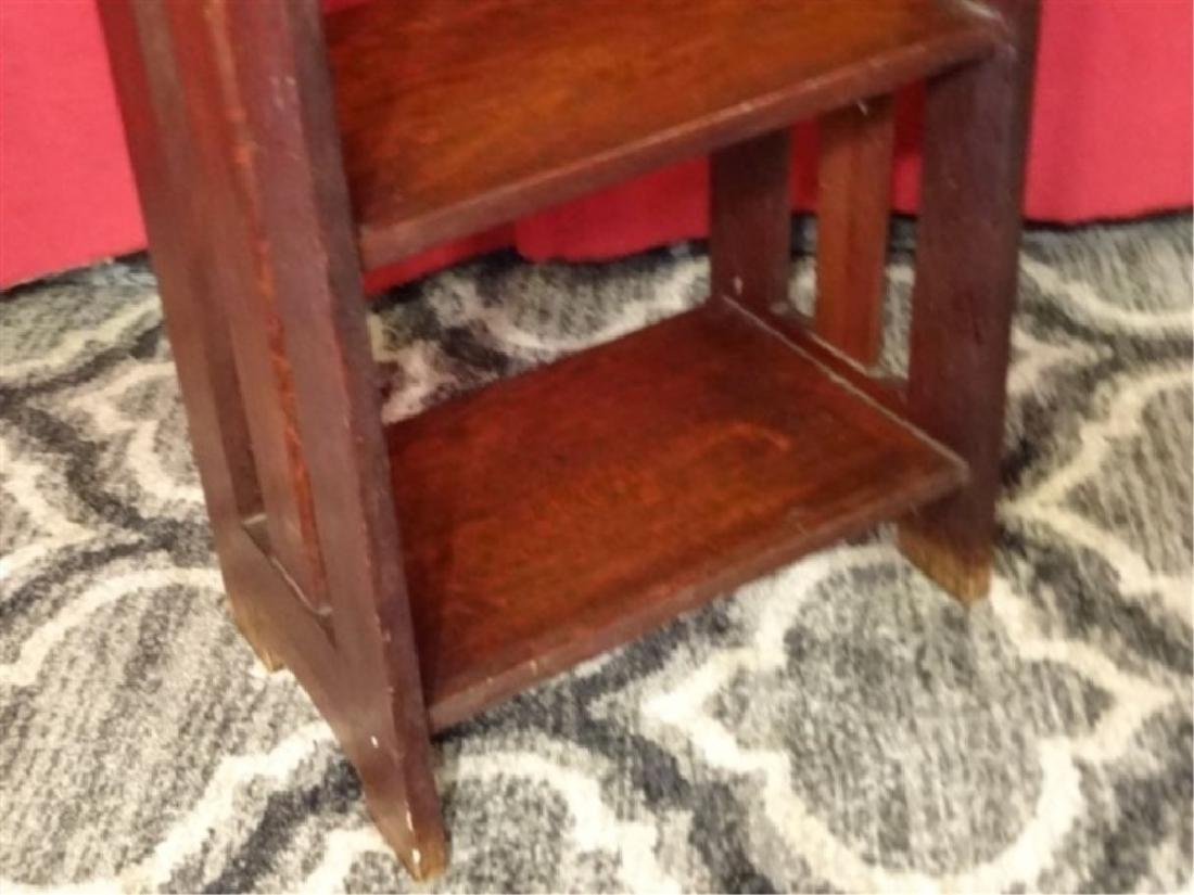 ARTS AND CRAFTS WOOD BOOKCASE, EARLY 20TH C., 5 - 3