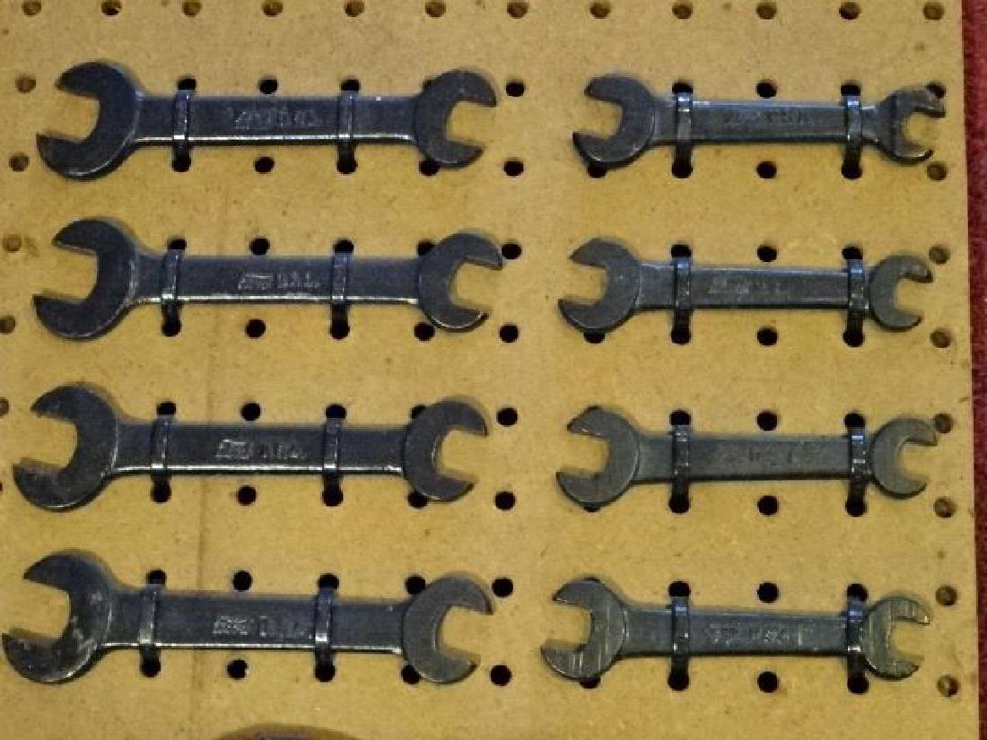 11 PC ANTIQUE FORD AUTO TOOLS, INCLUDES 8 WRENCHES AND - 3
