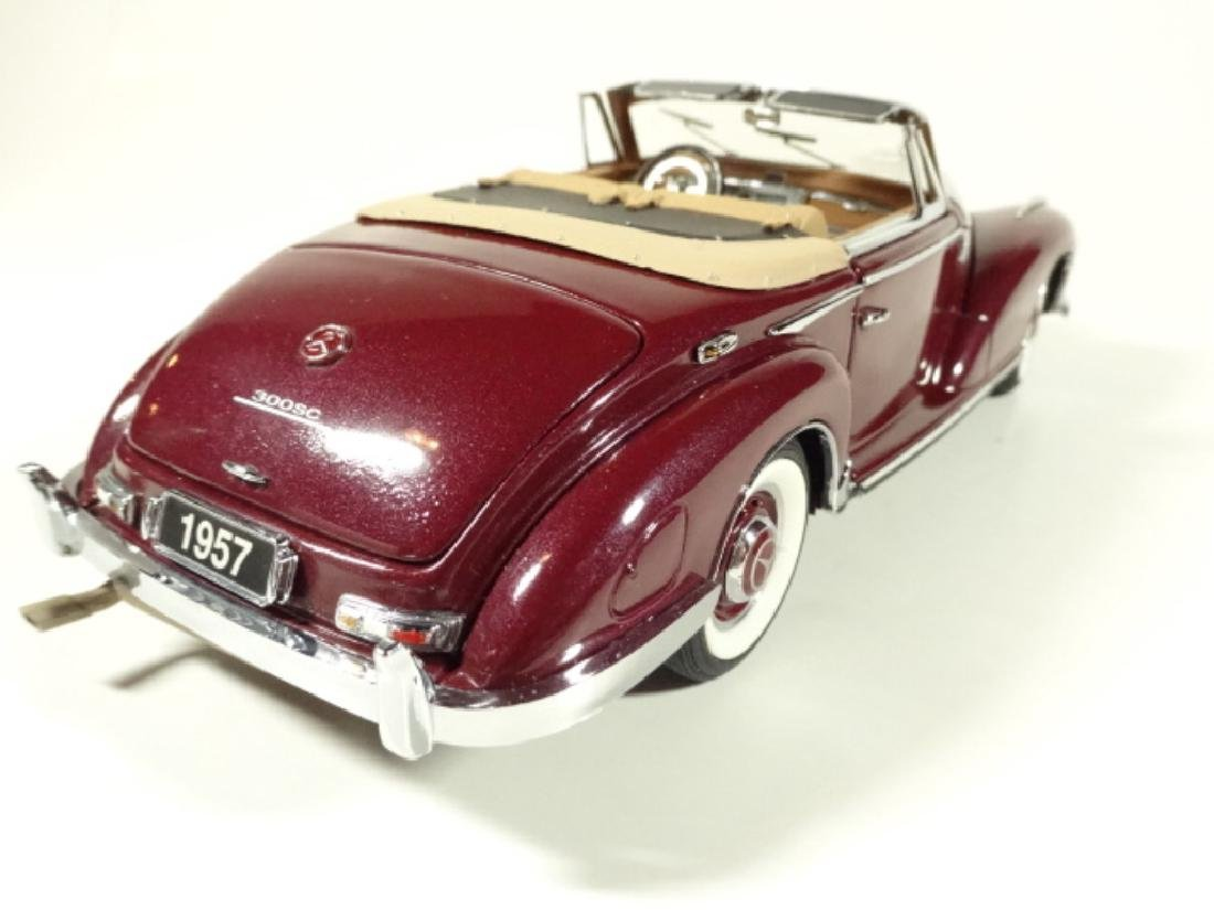 1957 MERCEDES BENZ 300SC CONVERTIBLE, MINT CONDITION, - 5