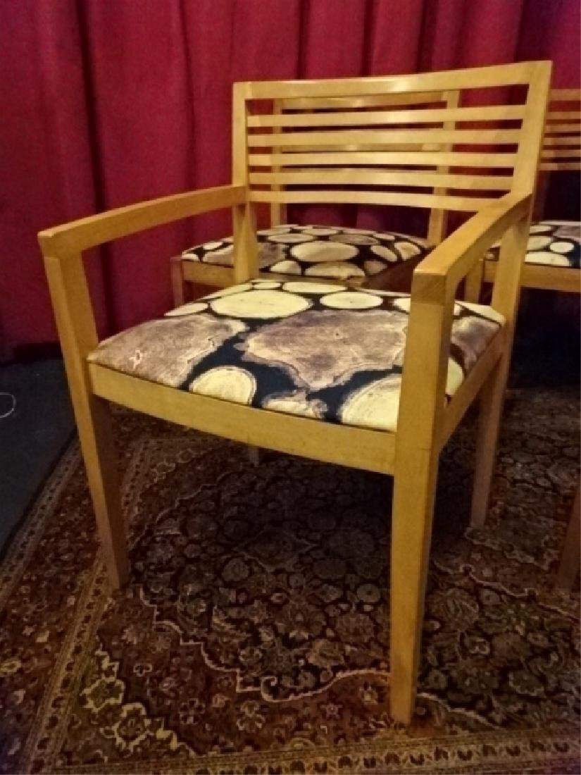 4 KNOLL STUDIO DINING CHAIRS, 1 ARMCHAIR, 3 SIDE - 3