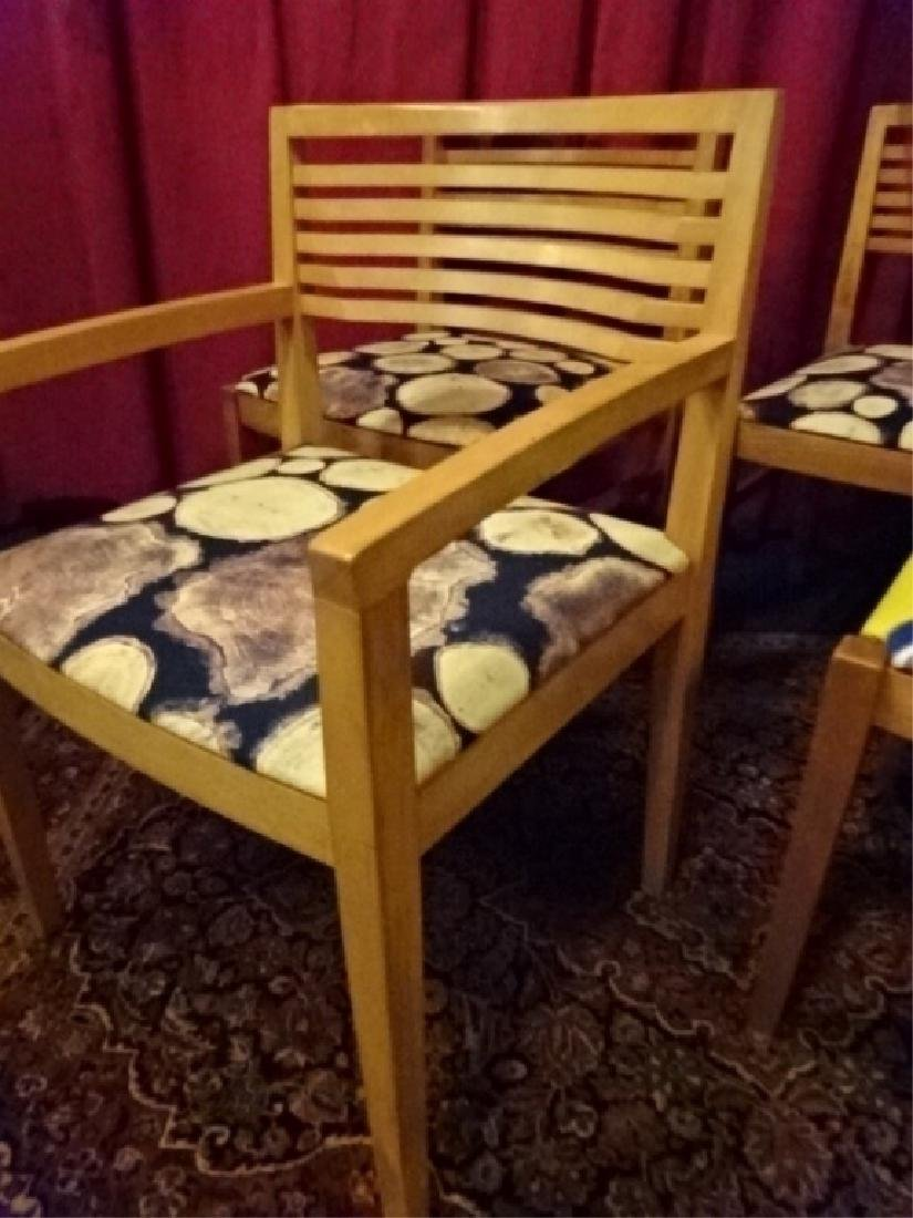 4 KNOLL STUDIO DINING CHAIRS, 1 ARMCHAIR, 3 SIDE - 5