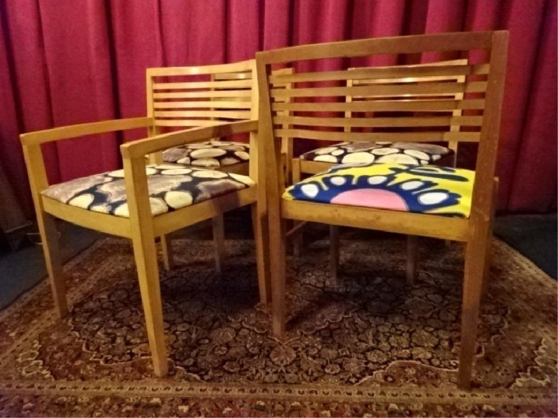 4 KNOLL STUDIO DINING CHAIRS, 1 ARMCHAIR, 3 SIDE - 6