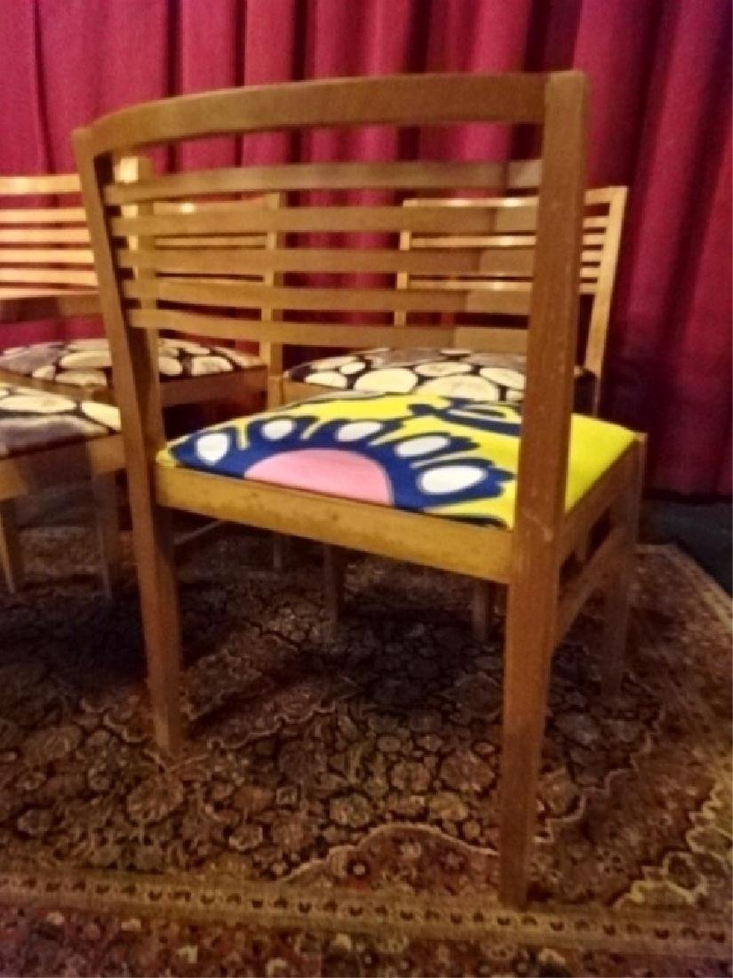 4 KNOLL STUDIO DINING CHAIRS, 1 ARMCHAIR, 3 SIDE - 7