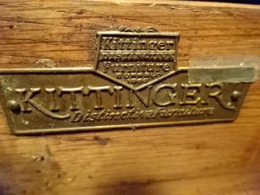 KITTINGER GOTHIC REVIVAL DESK, EARLY 20TH C., 6 - 10