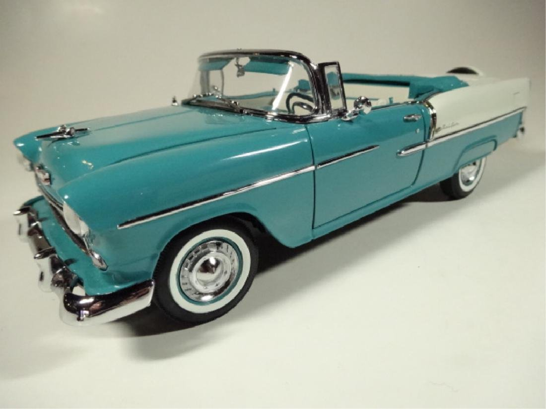 1955 CHEVROLET BEL AIR CONVERTIBLE, MINT CONDITION, BY