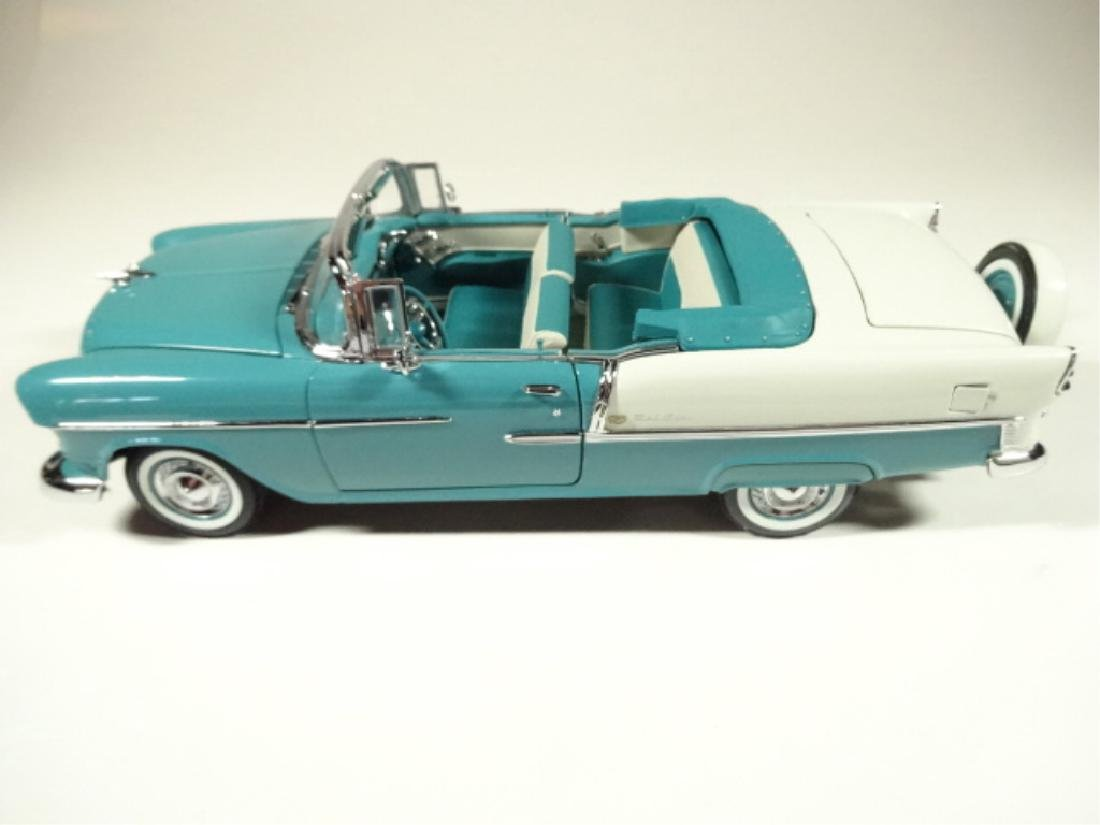 1955 CHEVROLET BEL AIR CONVERTIBLE, MINT CONDITION, BY - 2