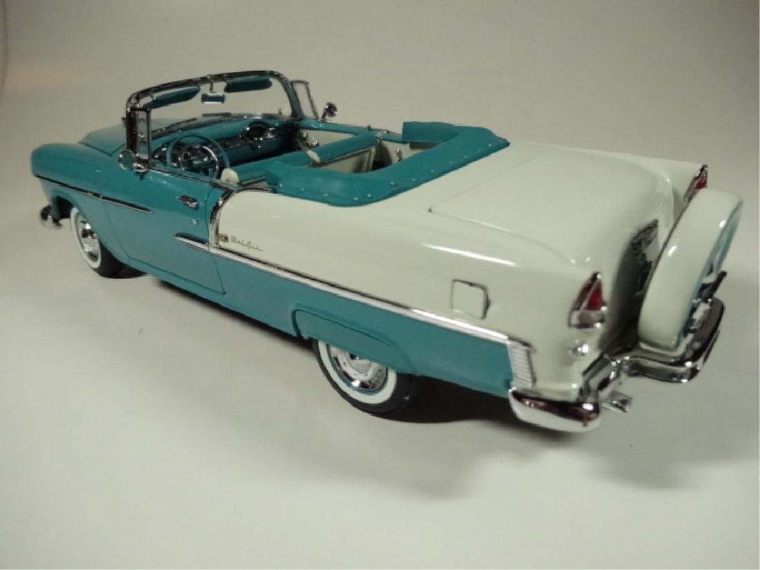 1955 CHEVROLET BEL AIR CONVERTIBLE, MINT CONDITION, BY - 3
