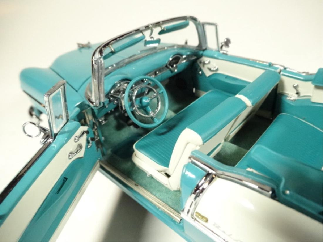 1955 CHEVROLET BEL AIR CONVERTIBLE, MINT CONDITION, BY - 4