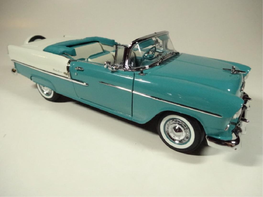 1955 CHEVROLET BEL AIR CONVERTIBLE, MINT CONDITION, BY - 5