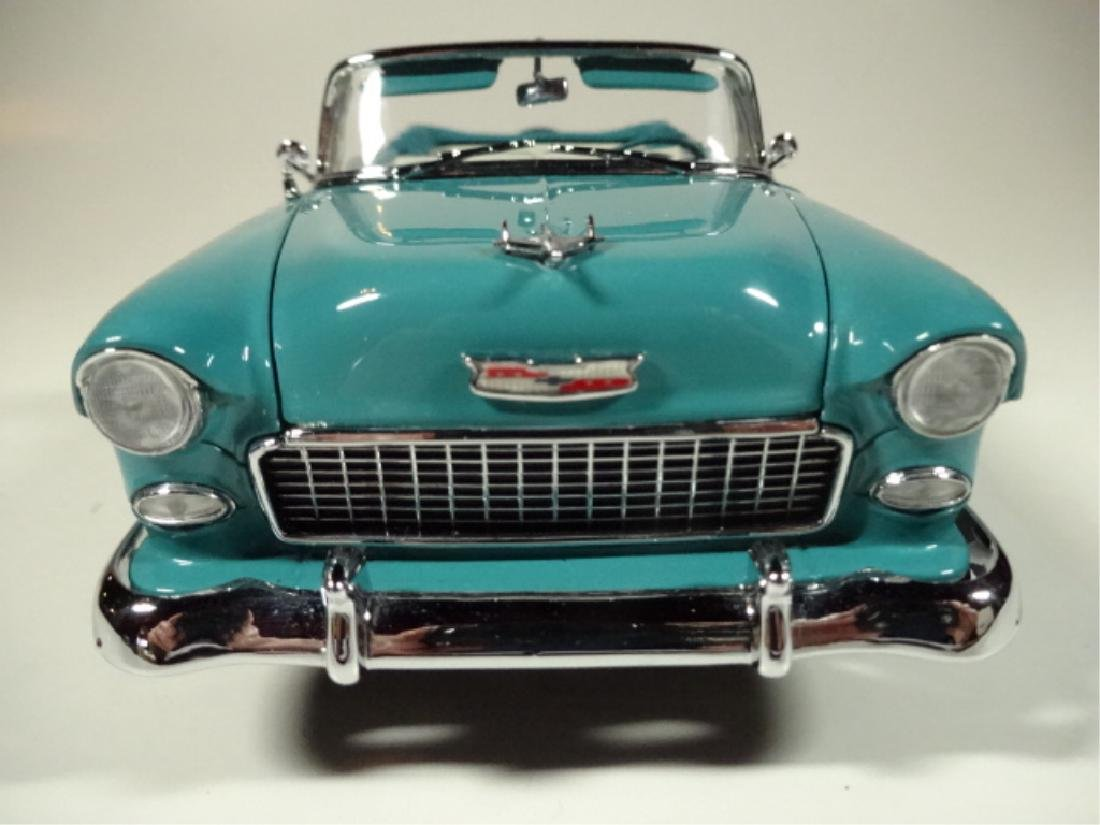 1955 CHEVROLET BEL AIR CONVERTIBLE, MINT CONDITION, BY - 7