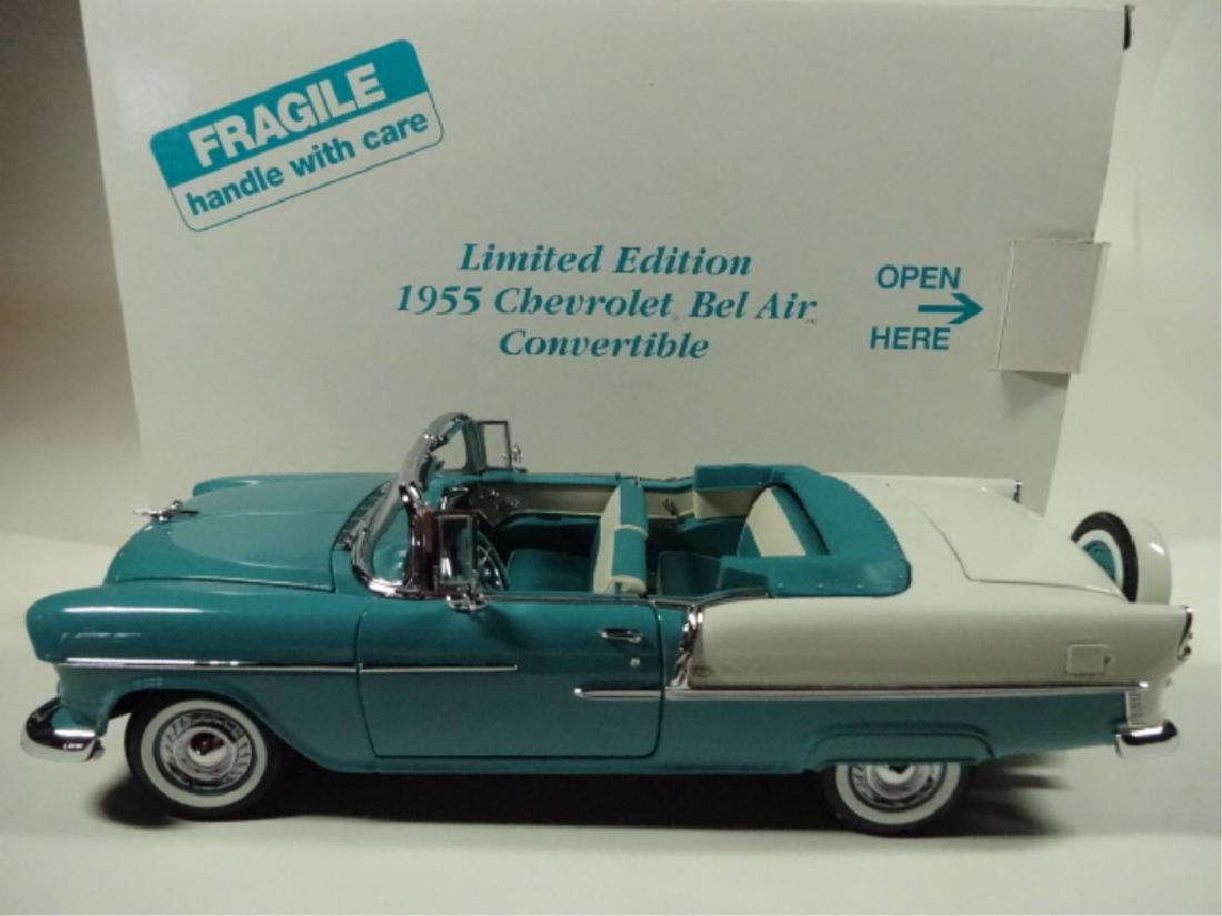 1955 CHEVROLET BEL AIR CONVERTIBLE, MINT CONDITION, BY - 8