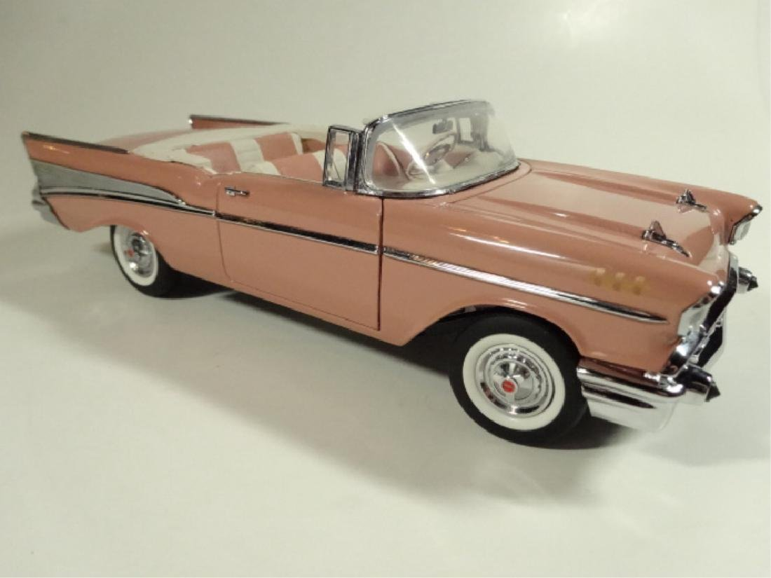 1957 CHEVROLET BEL AIR CONVERTIBLE, MINT CONDITION, BY