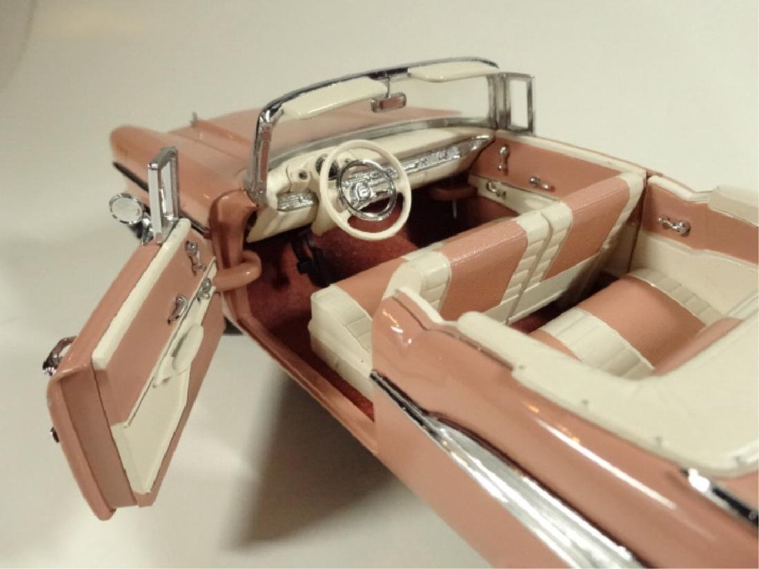 1957 CHEVROLET BEL AIR CONVERTIBLE, MINT CONDITION, BY - 5
