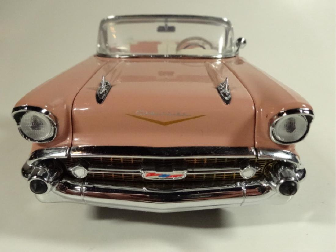 1957 CHEVROLET BEL AIR CONVERTIBLE, MINT CONDITION, BY - 6