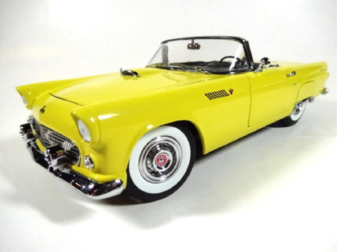 1955 FORD THUNDERBIRD CONVERTIBLE, MINT CONDITION, BY - 4