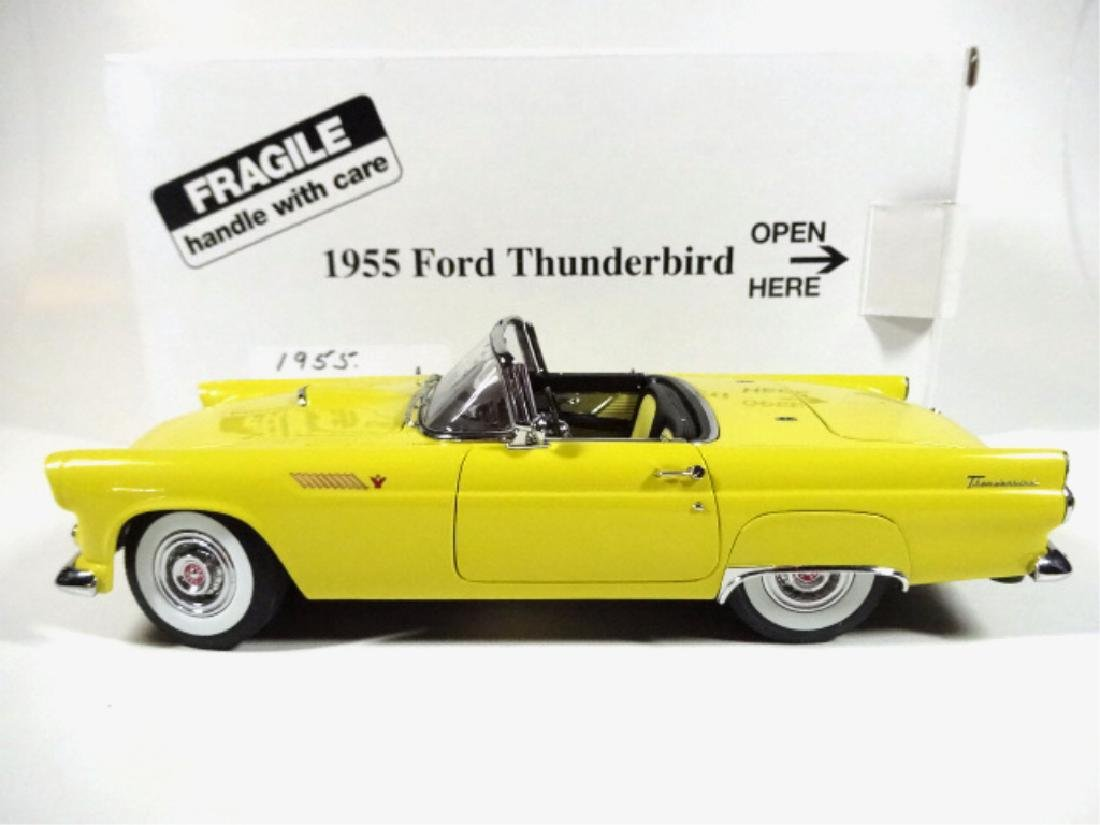 1955 FORD THUNDERBIRD CONVERTIBLE, MINT CONDITION, BY - 9