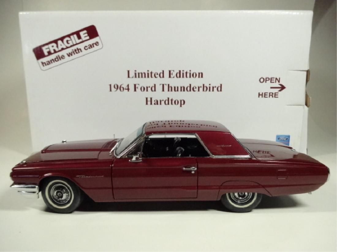 1964 FORD THUNDERBIRD HARD TOP, VERY GOOD CONDITION, - 8