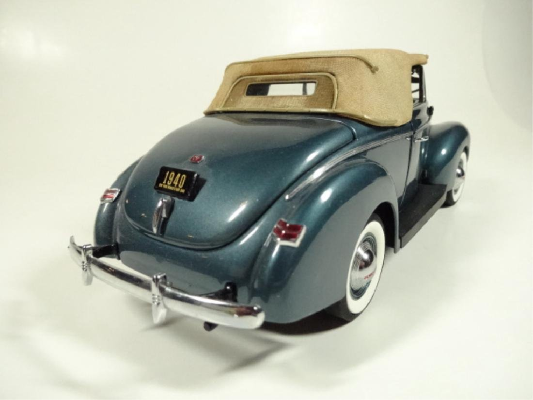 1940 FORD DELUXE CONVERTIBLE, MINT CONDITION, LIMITED - 5