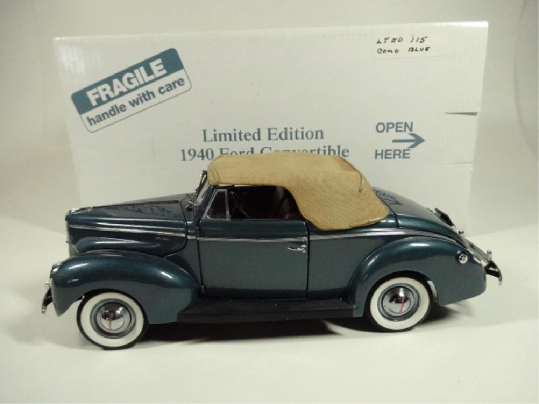 1940 FORD DELUXE CONVERTIBLE, MINT CONDITION, LIMITED - 7