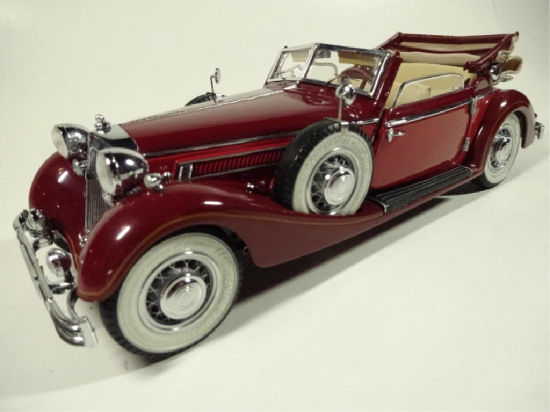 1937 HORCH 853 CABRIOLET, MINT CONDITION, BY CMC, WITH