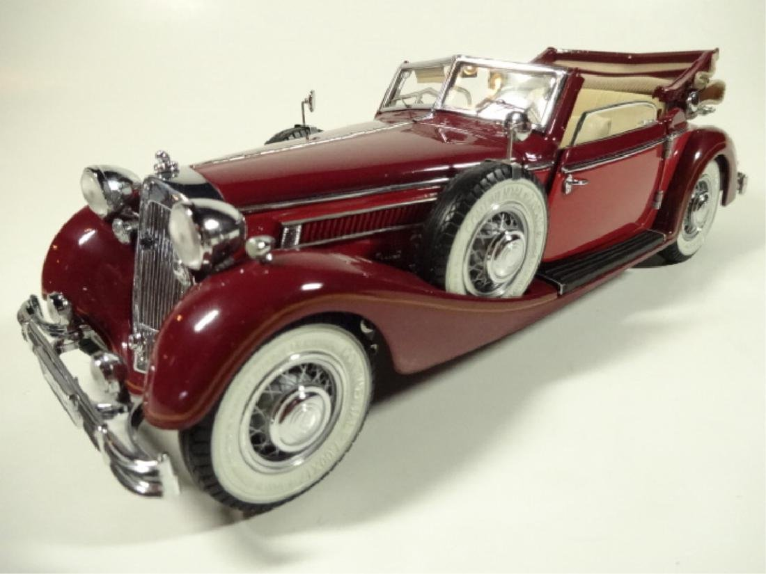 1937 HORCH 853 CABRIOLET, MINT CONDITION, BY CMC, WITH - 2