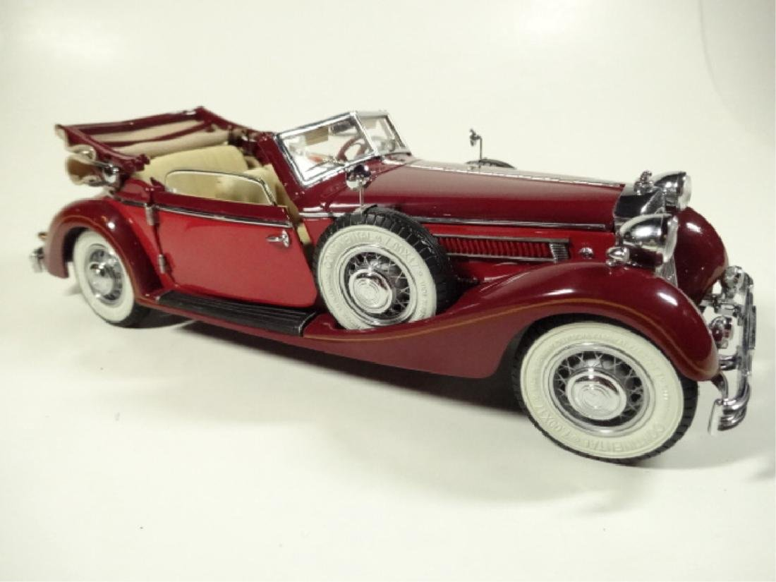 1937 HORCH 853 CABRIOLET, MINT CONDITION, BY CMC, WITH - 4