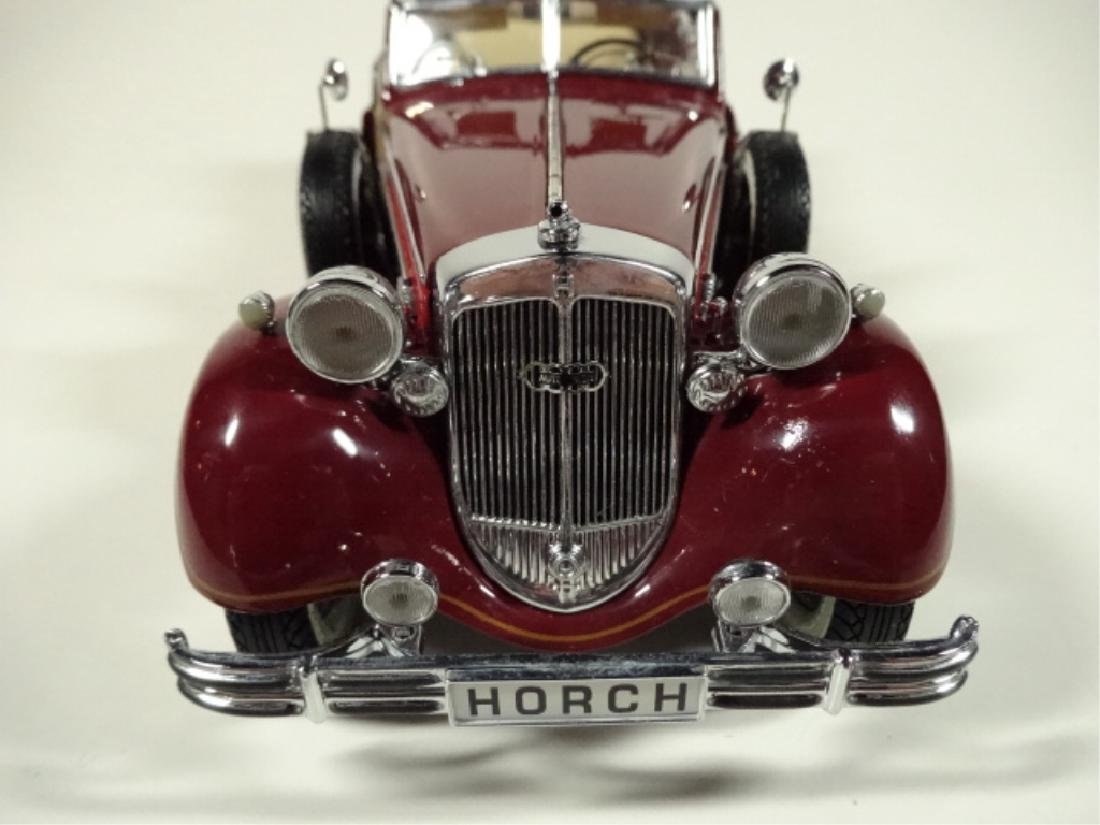 1937 HORCH 853 CABRIOLET, MINT CONDITION, BY CMC, WITH - 8