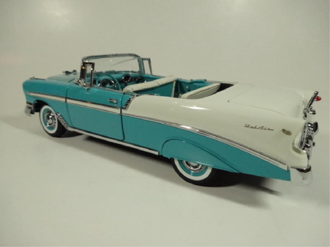 1956 CHEVROLET CONVERTIBLE, VERY GOOD CONDITION, ROOF